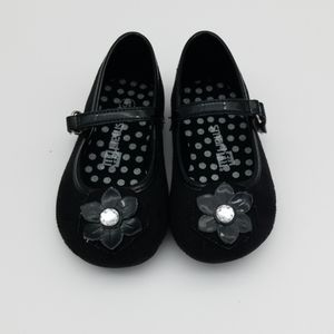 Smart Fit Black Mary Jane Style Toddler Shoe 5 1/2